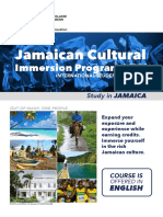 Jamaica Cultural Immersion Program FINAL
