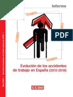 CCOO - Accidentes de Trabajo en España