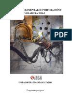 Manual de perforación y voladura subterraneo