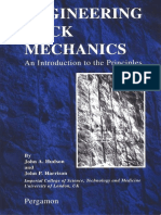 Engineering Rock Mechanics an Introduction to the Principles