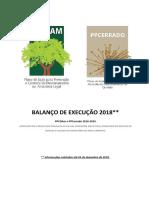 Balano PPCDAm e PPCerrado 2018 f
