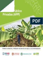 Metodología - Alianzas Público Privadas (APP) - 2