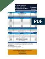 03. Lista de precios mezclas asfalticas Bello 03.08.2018.pdf