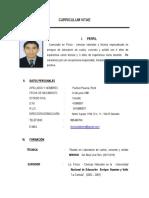 Curriculum Vitae Rene Puchuri Paucca