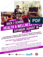 Back to School Health Fair 2019 District 3