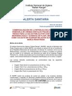 001 2019 Alerta Sanitaria Cremas Dentales Fraudulentas