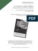 Ayala-Perdomo (2015) Los Repositorios Científicos Digitales