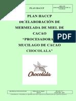 Plan Haccp Mermelada de Miel de Cacao