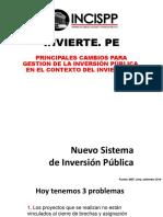 INVIERTE. PE Clase 2 Cuestiones Generales y Principios 2