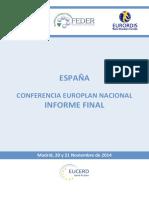 EUROPLAN II Informe Definitivo