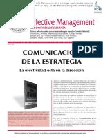 11) Effective Management, S.L. (s.f.). Comunicación de la estrategia. La efectividad está en la dirección.pdf