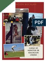 curso monitor de educacion canina