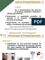 Aula 1 Princípios de Administração Da Produção (v1)