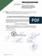 Congresista Israel Lazo - Ley Que Declara de Prioridad e Interés Nacional La Creación Del Distrito La Punta en La Provincia de Huancayo, Región Junín