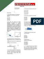 Física evaluación