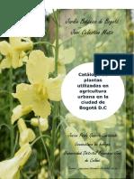 Plantas usadas en Agricultura Urbana