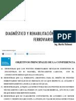 Diagnóstico y Rehabilitación de Puentes Ferroviarios Metálicos