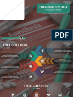 Anesthesia PowerPoint by SageFox v26.05205