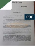 Intimación a BUSES Paraná