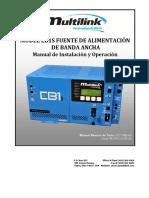 Fuente Multilink Eb1s Ops Manual r08 Espanol[1]