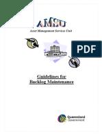 Backlog Maintenance Guideline