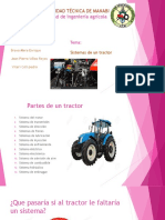 Sistemas de Un Tractor Agricola