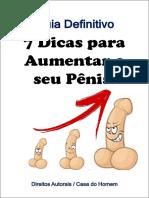 7 Dicas Para Aumentar o Seu Pênis