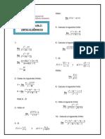 gui de trabajo algebra