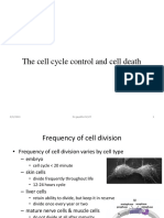 FALLSEM2019-20 BIT1004 ETH VL2019201002012 Reference Material I 02-Aug-2019 Regulation of Cell Cycle