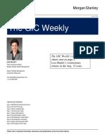 The GIC Weekly