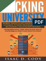 Hacking University Mobile Phone & App Hacking & the Ultimate Python Programming