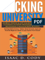 Hacking University Mobile Phone & App Hacking & the Ultimate Python Programming
