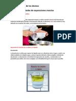 Métodos de Separaciones Mezclas (1)