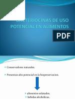 Bacteriocinas de Uso Potencial en Alimentos Ppt
