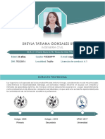 Tatiana Gonzales Cv