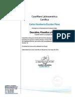 Certificación IDEA CaseWare Webinar Descubra, Visualice y Asesore El Poder Está en Sus Propios Datos