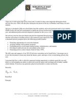 parent advisory letter 2019-20