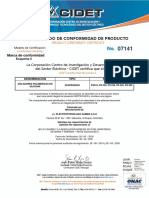 Certificados 07141f Polimericos Distribucion
