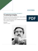 Octavio Paz_ Un Animal Que Imagina _ Cultura _ EL PAÍS