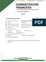Unidad de Aprendizaje Administracion Tributaria Plan 318 2019_1