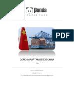 como importar desde china