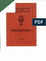 Manual de parqueo UMSA