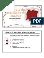 3 - Controle de Qualidade Do Sangue