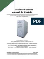 Manual Microturbina Capstone (Port)