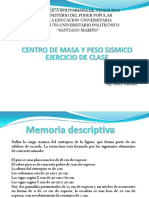 Ejercicio de Clase # 1 (Centro de Masa)