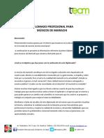 Diplomado Profesional para músicos de mariachi-1