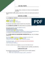 Apuntes de Gramática y Redacción