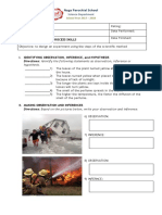 Grea de 6 Worksheets