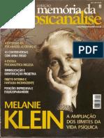 Revista memória da psicanálise