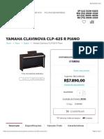 Yamaha Clavinova CLP-625R Piano